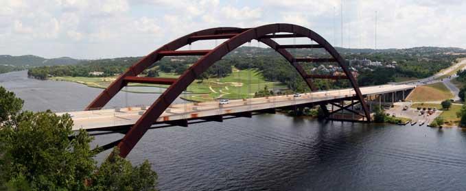 Austin 360 Suspension Bridge